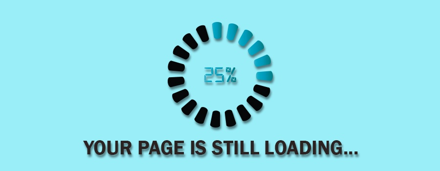 your page is loading