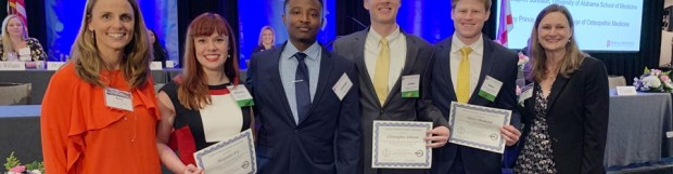 Four Medical Students Receive Scholarships during 2019 Annual Meeting