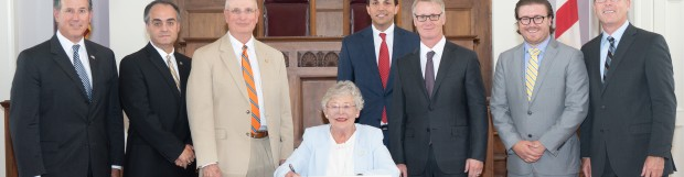 Gov. Ivey Hosts Bill Signing Ceremony for MAT Act